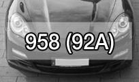 Cayenne 958 (92A)
