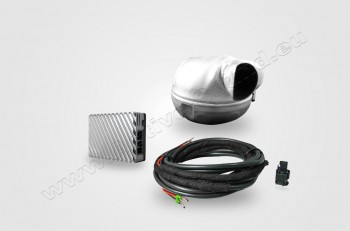 Complete-Kit Active Sound with Soundbooster and APP-Control - Tesla Model S